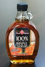 Bottle of Syrup